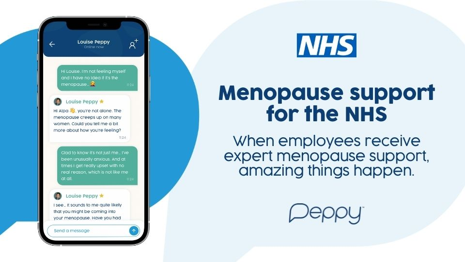 Peppy Menopause for the NHS